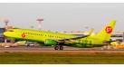 Модель самолета Boeing 737-800 S7 Airlines 1:100