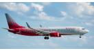 Модель самолета Boeing 737-800 Россия 1:100