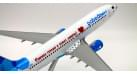 """Модель самолета Boeing 737-800 Победа """"Маска"""" 1:100"""