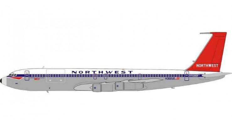 Модель самолета Boeing 707-300 Northwest Airlines 1:200
