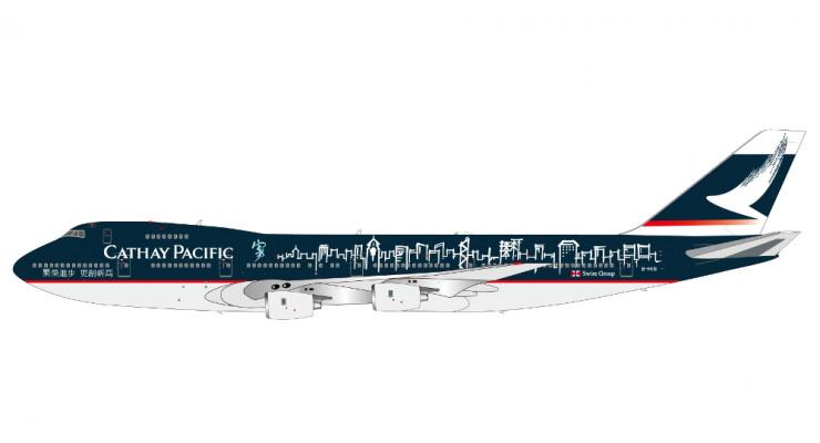 "Модель самолета Boeing 747-200 ""Spirit of Hong Kong"" Cathay Pacific 1:400"