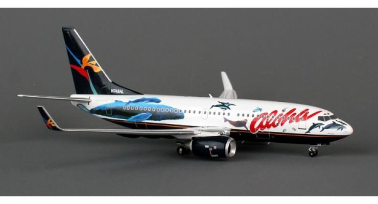 "Модель самолета Boeing 737-700 Aloha Airlines ""Flying Whale"" 1:200"