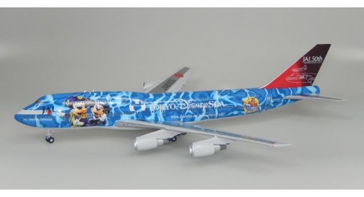 "Модель самолета Boeing 747-400D Japan Airlines ""Tokyo Disney Sea"" 1:200"