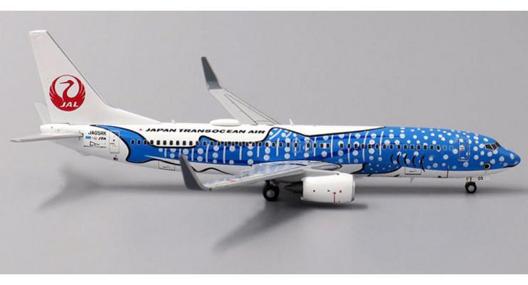 "Модель самолета Boeing 737-800 ""Jinbei Jet"" Japan Transocean Air 1:400"