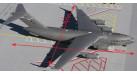 Модель самолета Boeing C-17 Globemaster III USAF 1:200