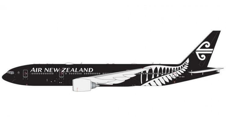 "Модель самолета 777-200ER ""All Blacks"" Air New Zealand 1:400"