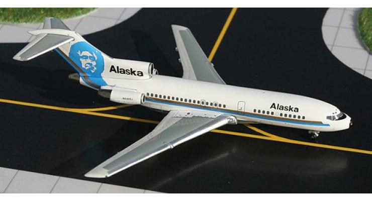 Модель самолета Boeing 727-100 Alaska Airlines 1:400