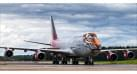 "Модель самолёта Boeing 747-400 Россия ""Амурский тигр"" 1:400"