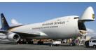 Модель самолета Boeing 747-8F UPS 1:400