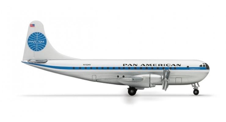 Модель самолета Boeing 377 Stratocruiser Pan American Airways 1:200