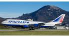 Модель самолета Boeing 747-400 Трансаэро 1:200