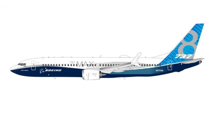 Модель самолета Boeing 737 MAX 8 1:200