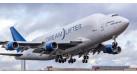 Модель самолета Boeing 747LCF Dreamlifter (с механизацией крыла) 1:200