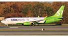 """Модель самолета Boeing 737-800 """"Oneworld"""" S7 Airlines 1:400"""