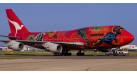 """Модель самолета Boeing 747-400 """"Wunala Dreaming"""" Qantas 1:200 (легкосборная)"""