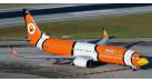 "Модель самолета Boeing 737-800 Nok Air ""Nemo"" 1:200"