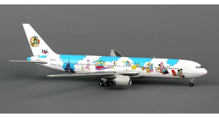 "Модель самолета Boeing 767-300 Japan Airlines ""Dream Express"" 1:200"