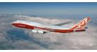 Модель самолета Boeing 747-8 1:400