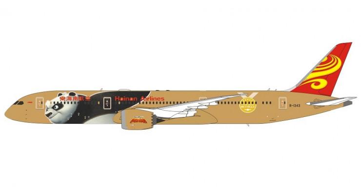 "Модель самолета Boeing 787-9 Hainan Airlines ""Kung Fu Panda 4"" 1:400"