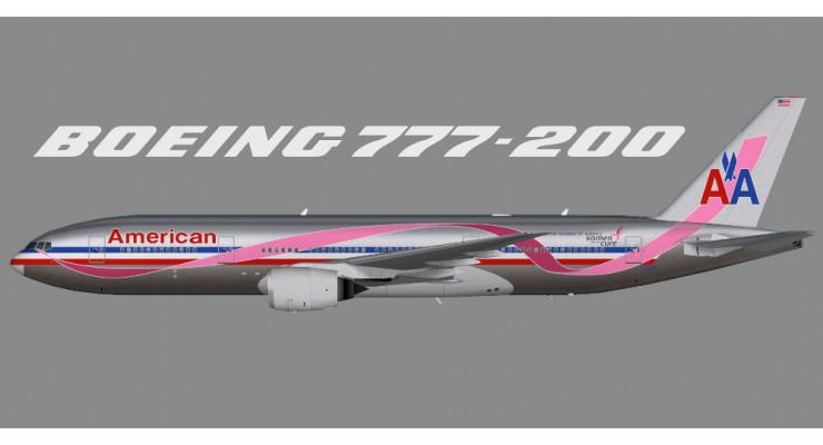 Модель самолёта 777-200ER American Airlines 1:400