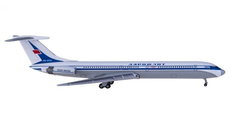 Модель самолета Ильюшин Ил-62М Аэрофлот СССР 1:500