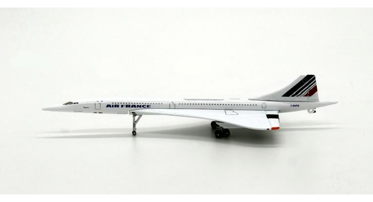Модель самолета Aerospatiale / British Aerospace Concorde Air France 1:400