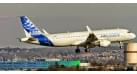 Модель самолета Airbus A320 заводской длинна 18 см.
