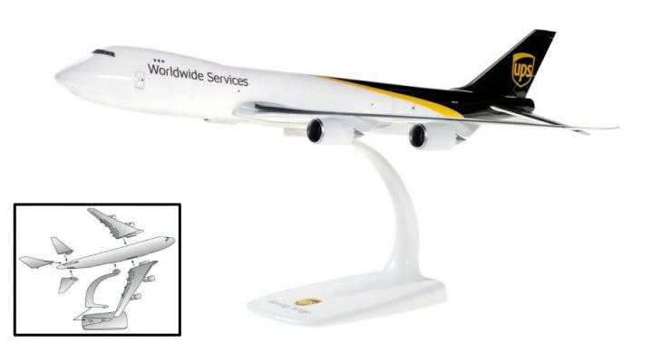 Модель самолета Boeing 747-8F UPS Worldwide Services 1:250