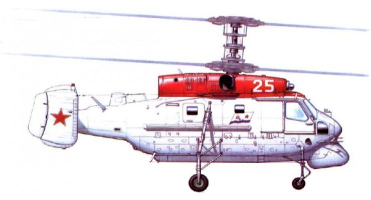 """Модель вертолета Камов Ка-25 """"Гормон"""" ВВС СССР 1:72 27305"""
