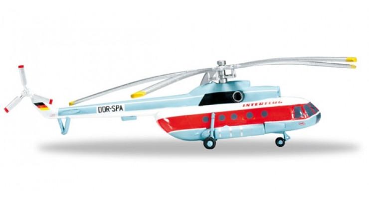 Модель вертолета Миль Ми-8Т Interflug 1:200 555784