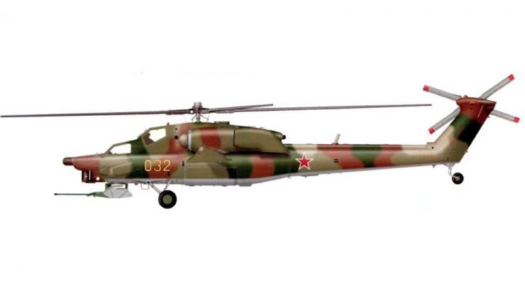 """Модель вертолета Миль Ми-28А """"Havoc"""" ВВС России 1:72 CHE005"""